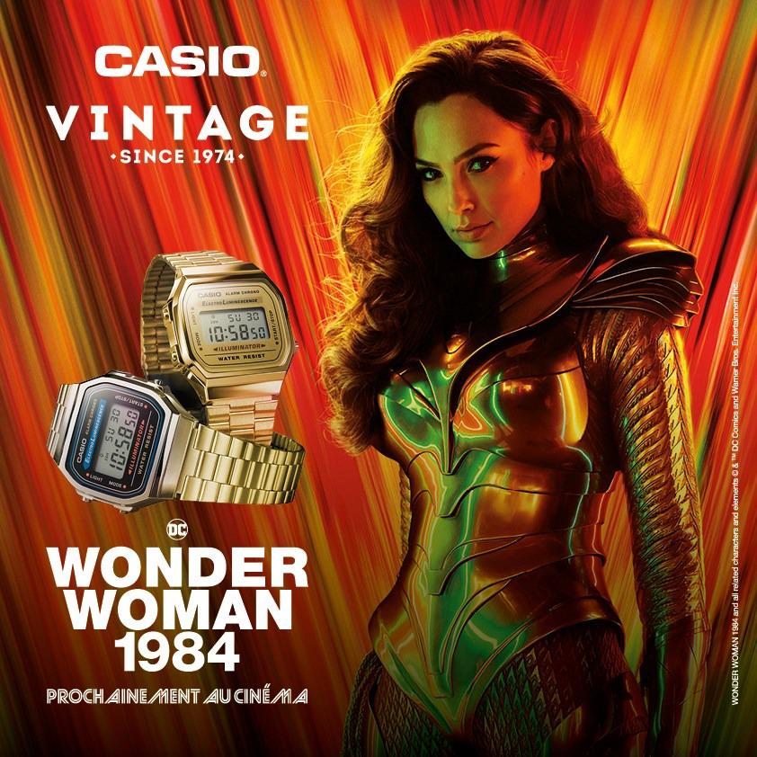 CASIO VINTAGE présente ses modèles iconiques portés dans les films