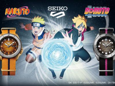 Seiko 5 Sports rencontre NARUTO & BORUTO