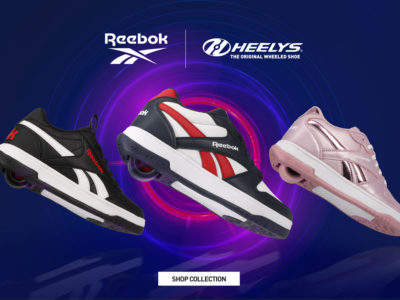 Nouvelle collaboration Heelys x Reebok
