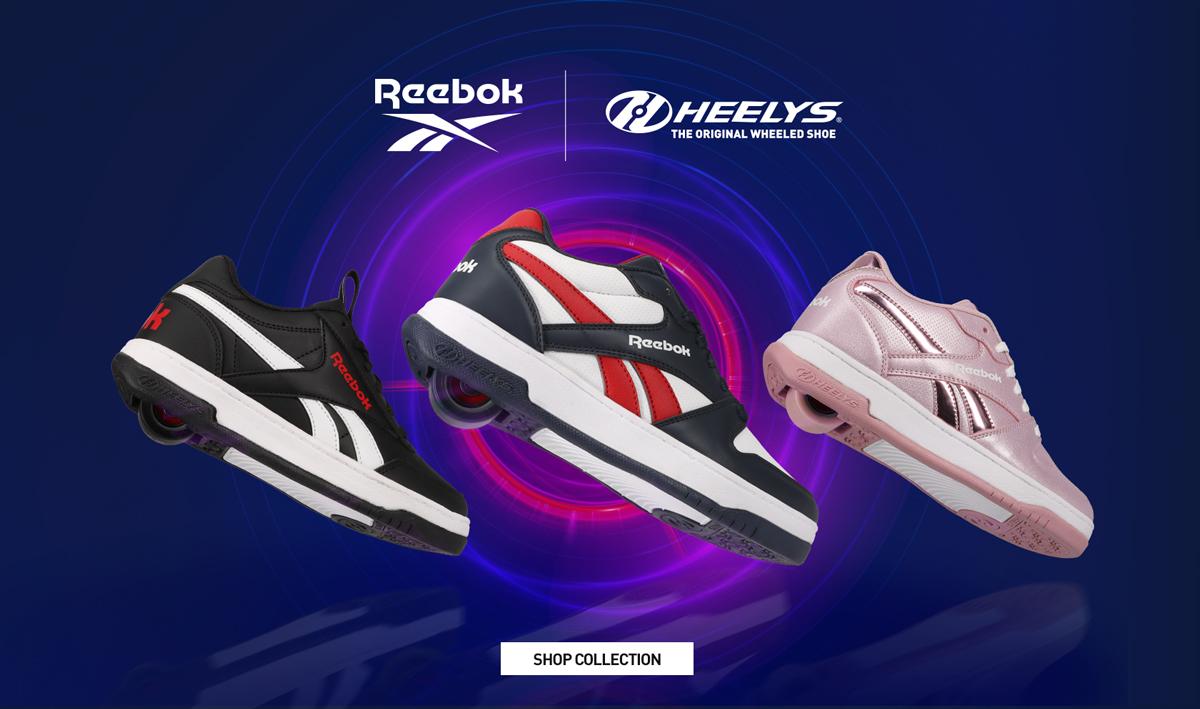 Nouvelle collaboration Heelys x Reebok