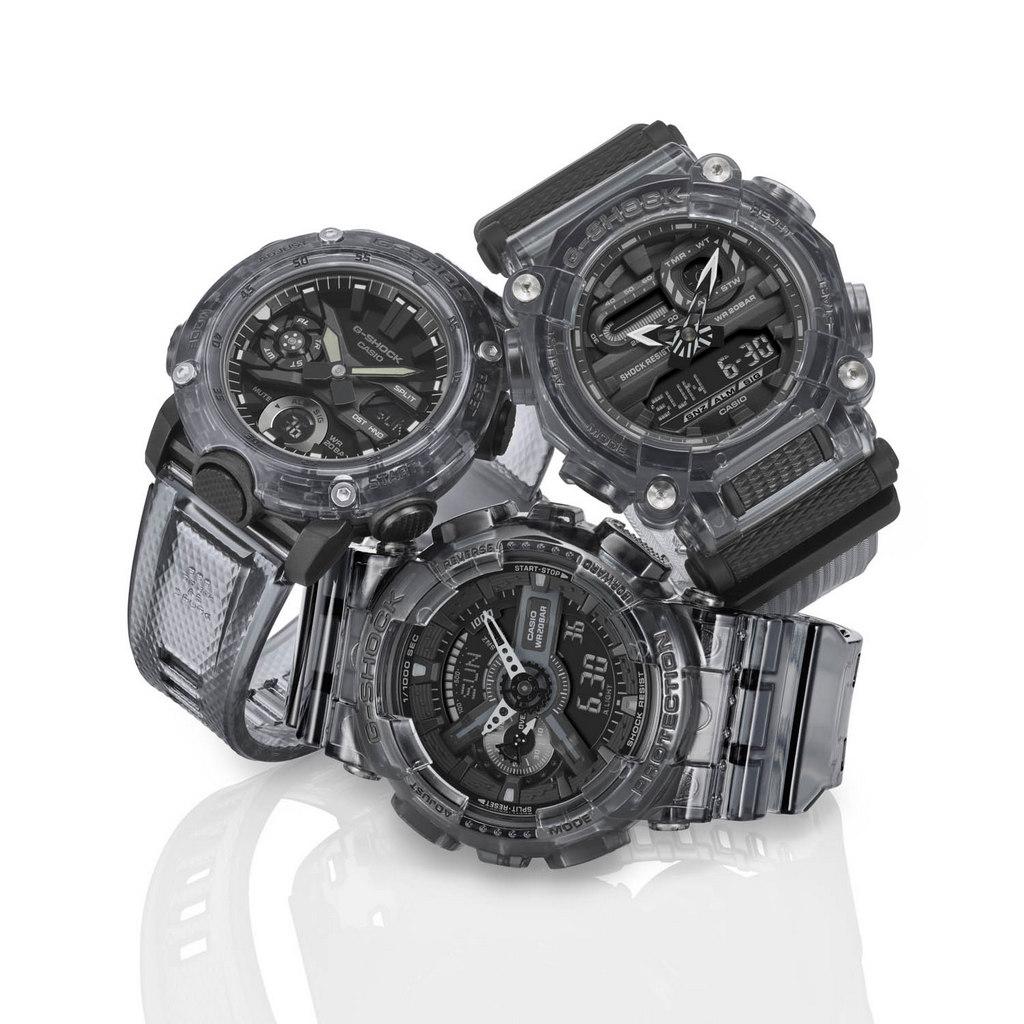 Les nouveaux modèle skeleton Black & White de G-SHOCK