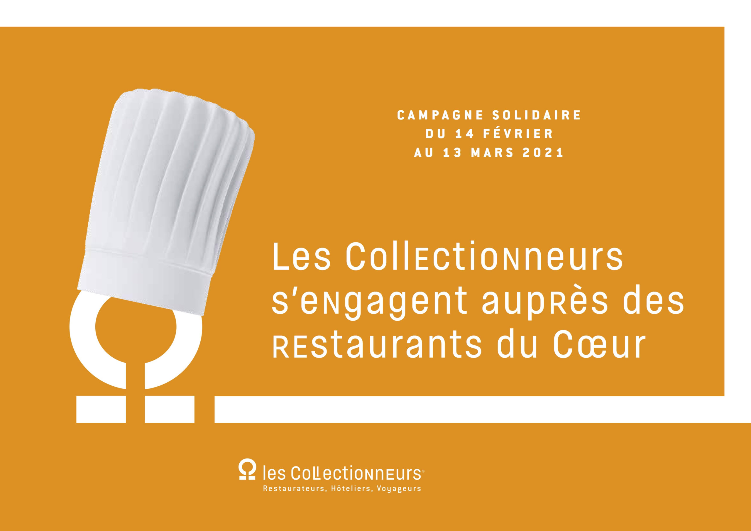 Les Collectionneurs s'engagent auprès des Restaurants du Cœur