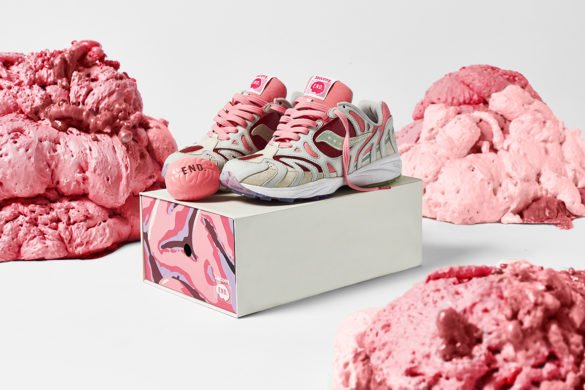 Collab END. x Saucony : The Brain !