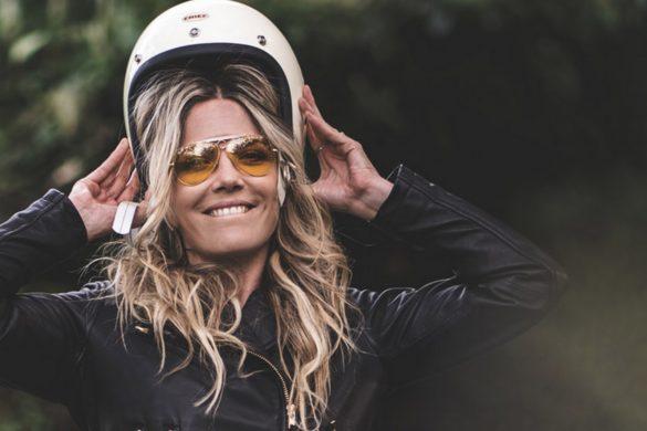 Une veste EUDOXIE pour les escapades en moto