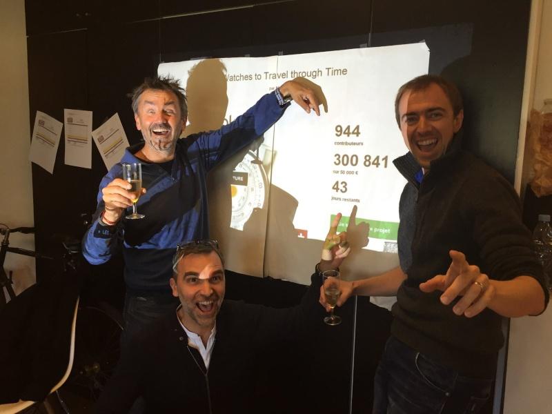 Le succès de la campagne Kickstarter