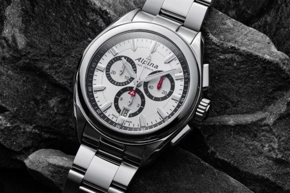 Combinez sport et style avec l'Alpina Alpiner Quartz Chronographe