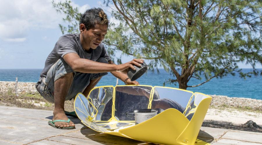 Sungood, le cuiseur solaire compact et écologique