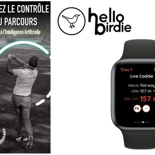Hello Birdie, l'appli de tous les golfeurs !