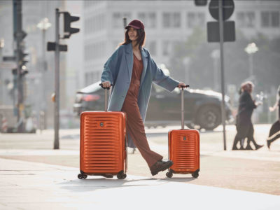 Airox, le nouveau bagage cabine rigide de Victorinox