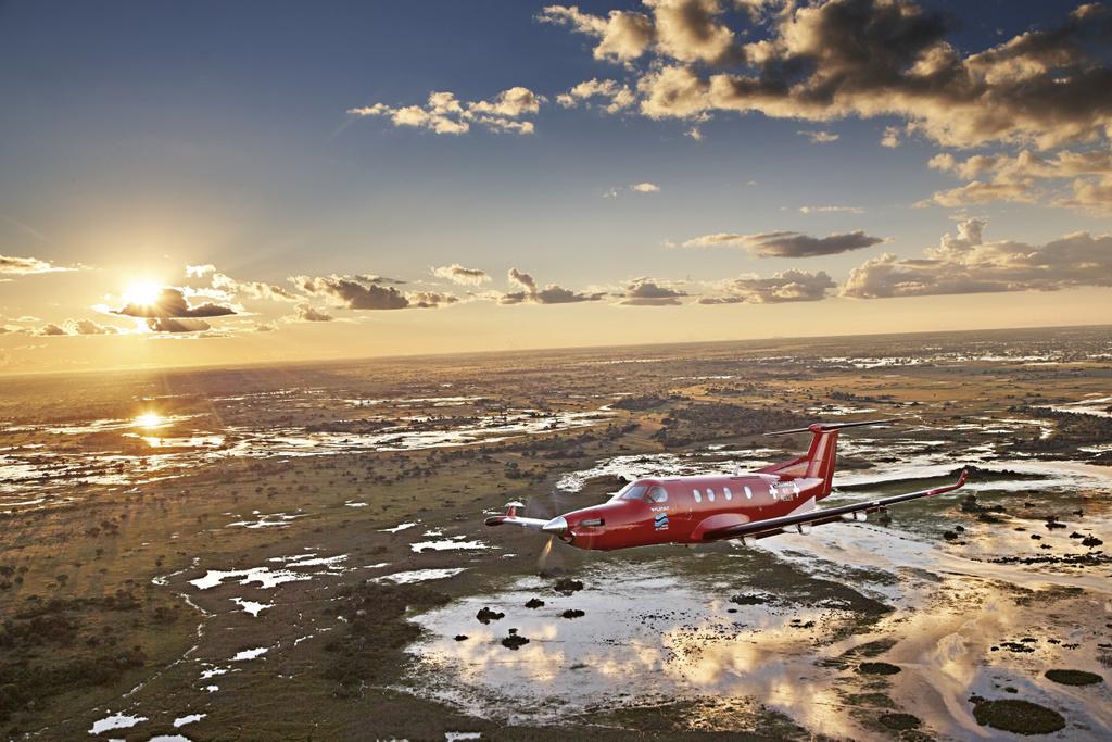 Oris Big Crown ProPilot pour célébrer l'organisation Okavango Air Rescue