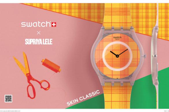 Collaboration Swatch x Supriya Lele