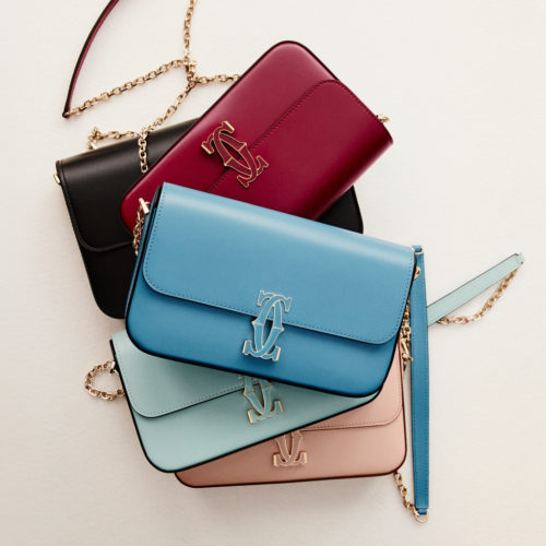 Le sac chaîne Double C de Cartier