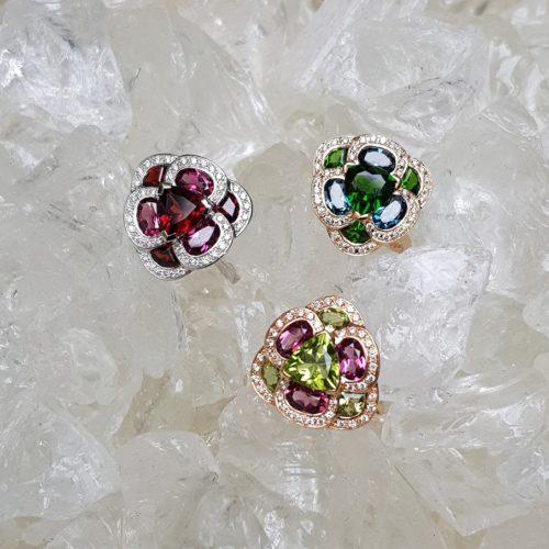 Collection Flora Pensée d'Isabelle Langlois