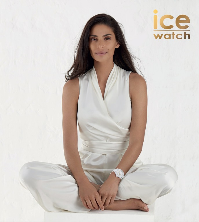 Tatiana Silva, une égérie lumineuse pour l'Ice-Watch solar Power